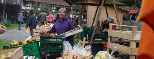 Bauernmarkt im Bauernhausmuseum in Wolfegg